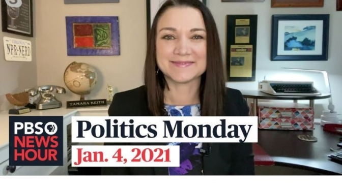 Politics Monday: Tamara Keith And Amy Walter On Georgia Voting (Video)