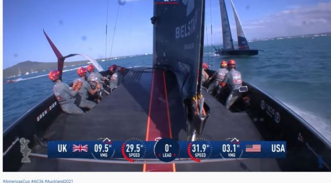 Sailboat Racing: 'Onboard AC75 Action' From Prada ACWS Series, New Zealand