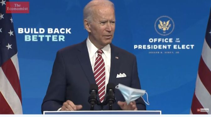 World Affairs: How Will 'President Biden' Repair America's Reputation?