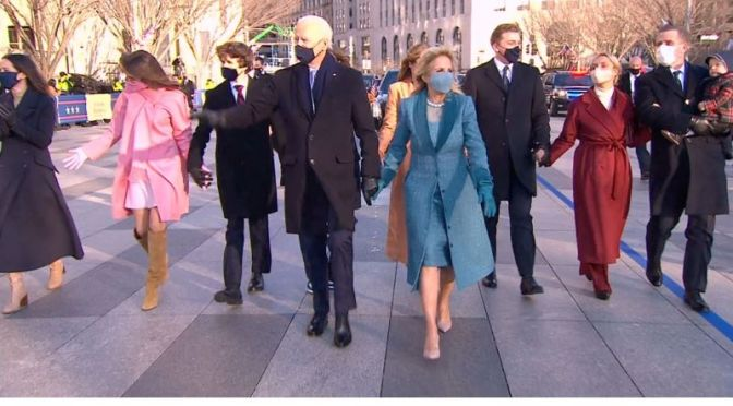 Washington DC Walks: Capitol To White House With President Biden