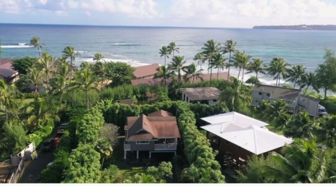 Tropical Home Tours: Hanalei Bay, North Shore Of Kauai In Hawaii (Video)