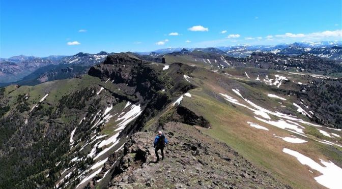 Off-Trail Hiking: 'Absaroka Beartooth Wilderness', Southwestern Montana
