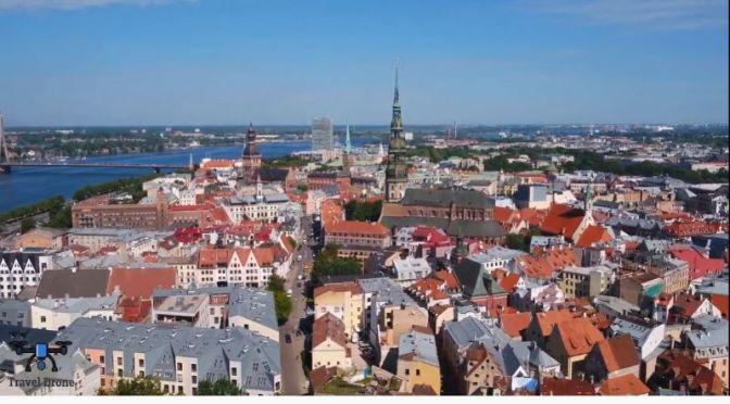Aerial Travel: 'Riga – Capital Of Latvia' (4K Video)