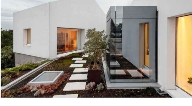 Architectural Tours: 'Rio House' In Gondomar, North Portugal (Video)