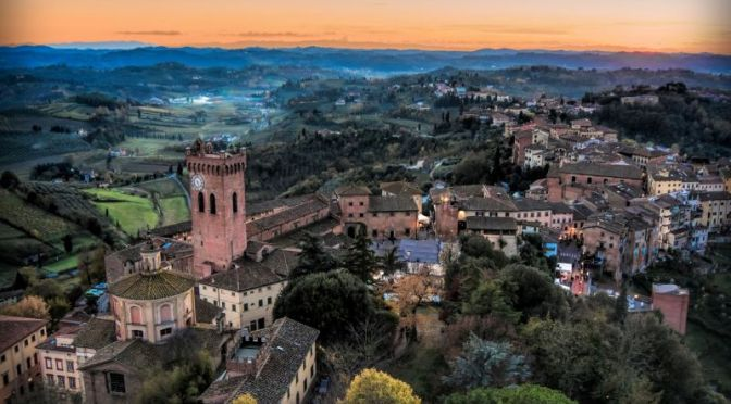 Views: 'Monteriggioni, Montepulciano & San Minato' In Tuscany, Italy