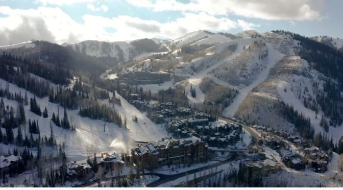 Home Tours: Mountain Ski Retreat In Deer Valley, Park City, Utah (Video)