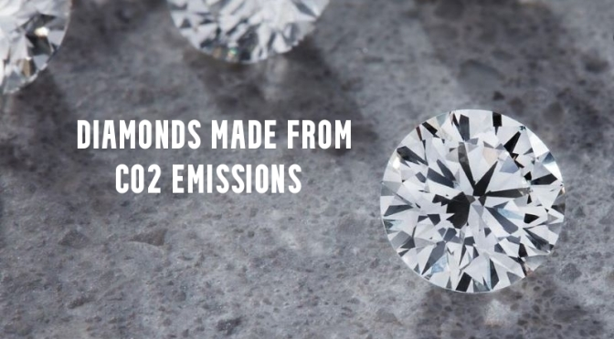 Innovation: Diamonds Made From CO2 Emissions