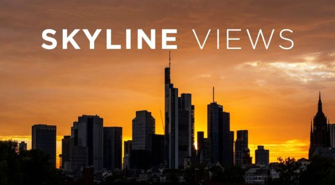 Skyline Views: Frankfurt, Germany In Hyperlapse