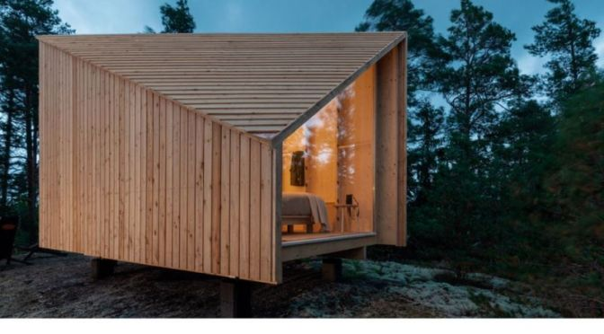Innovative Space: Studio Puisto's 'Modular Cabin'