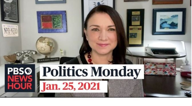 Politics Monday: Tamara Keith And Amy Walter On Biden's First Days (Video)