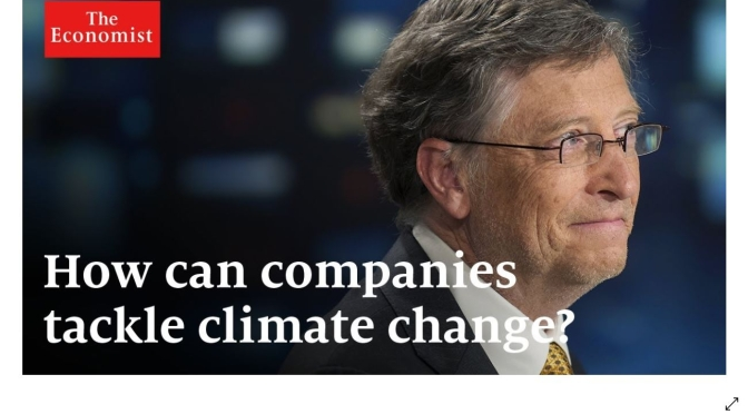 Climate Change: Bill Gates On How Best To Fund The 'Green Revolution' (Video)