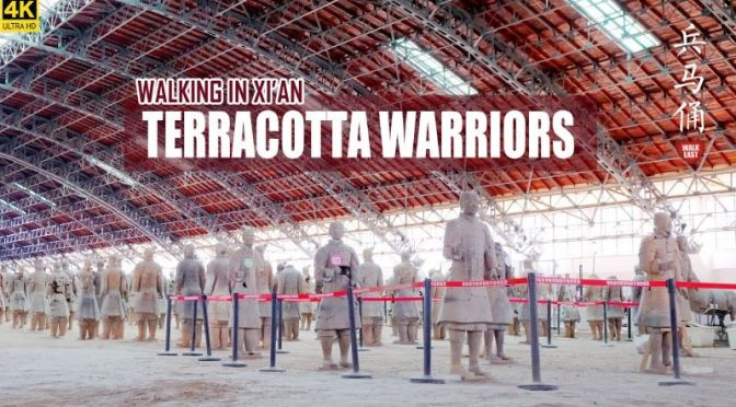 Travel & Archaeology: 'Terracotta Warriors' in Xi'an, China (4K Video)