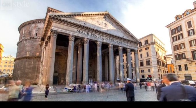 Landmarks & History: 'The Pantheon – Rome' (Video)