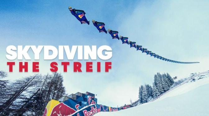 Extreme Views: Skydivers Fly Down 'The Streif' In Kitzbuhel, Austria (Video)