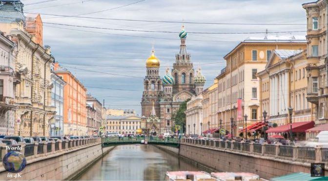 Timelapse Travel: 'Saint Petersburg, Russia' (Video)