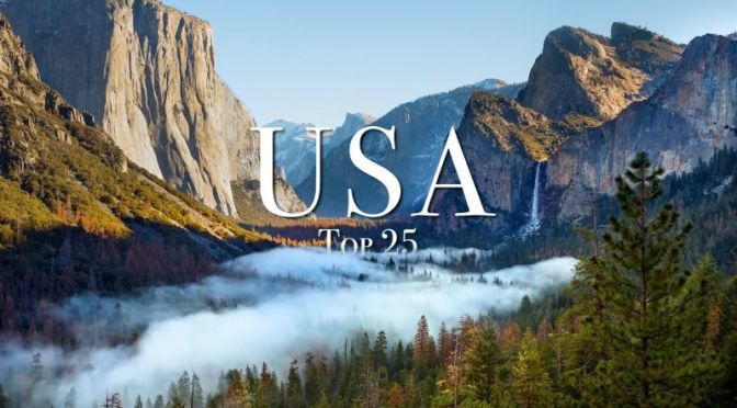 Travel: 'Top 25 Places To Visit In The USA' (Video)