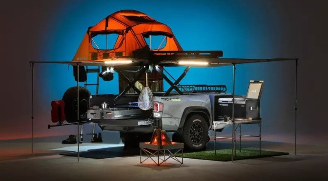 "Compact Camping: '2021 Toyota TRD-Sport Trailer'  ""All-In-One Convenience"""