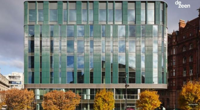 Green Renovation: '1970 Manchester, UK Building' By TP Bennett Architects