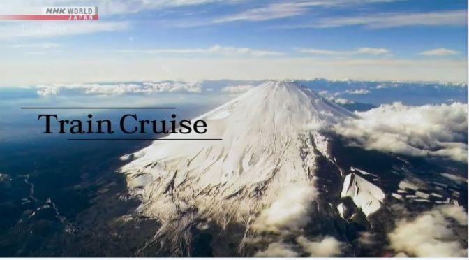 Train Travel: Countryside Around 'Mt. Fuji, Japan'