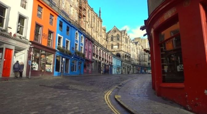 Travel Tour: 'Edinburgh – Old Town' In Scotland