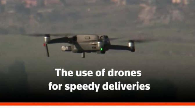 Future Deliveries: U.S. To Allow Small Drones To Fly Over People At Night (2021)