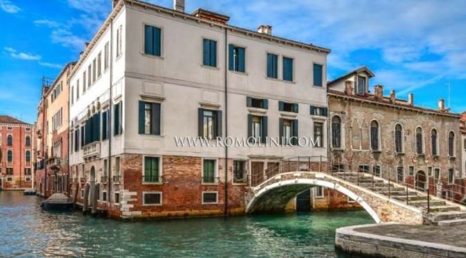 Venice Palazzo Tour: Castello On Canal (Video)