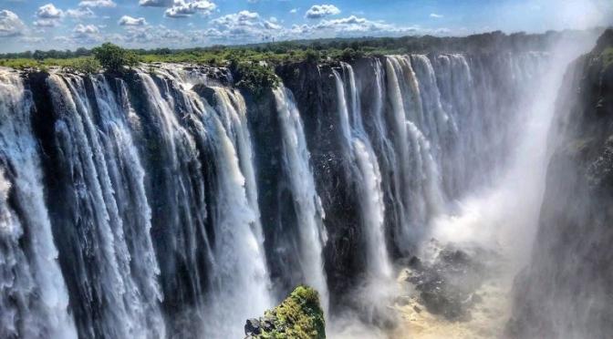 360° Views: 'Victoria Falls',  Zambia & Zimbabwe, AFrica