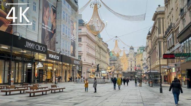 Walking Tours: 'Vienna – Austria' On New Year's Day 2021 (4K HD Video)