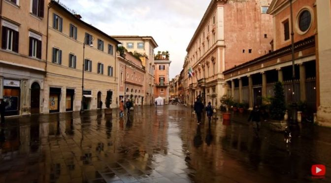 Walking Tours: 'Colonna' District, Rome, Italy (Video)