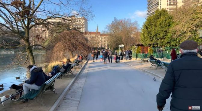 Walks: 'Parc Montsouris' In South Paris (4K Video)