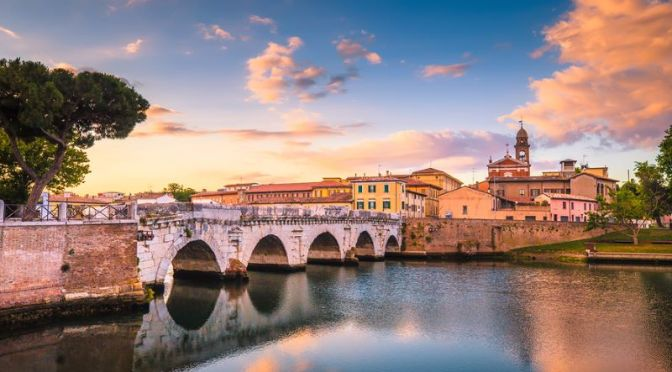 Walks: 'Rimini On The Adriatic Coast, Italy'