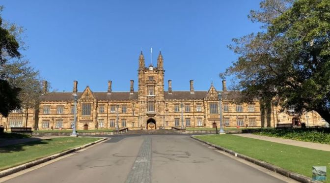 Summer Walk: University Of Sydney, Haymarket & Ultimo In Australia  (Video)