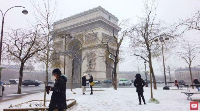 Winter Walks: 'Arc de Triomphe & Champs-Élysées In Paris' (Video)