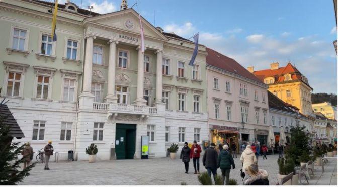 Walks: 'Baden' – A Spa Town Near Vienna, Austria (4K)