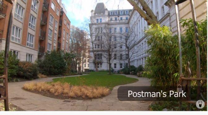 Walks: City Of London's Hidden Parks (4K Video)