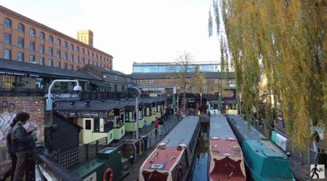 Walks: 'Camden Market' In London, England (Video)