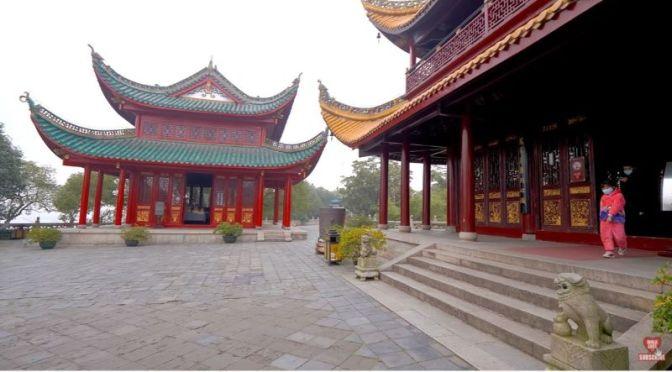 Walks: 'Yueyang Tower, Hunan, China' (4K Video)