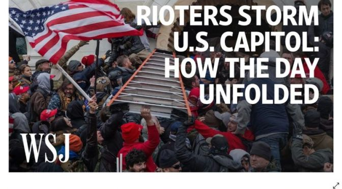 Investigation: 'How The Rioters Stormed The U.S. Capitol' (WSJ Video)