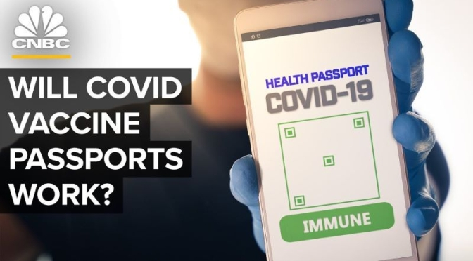 Covid-19: Will Digital Vaccine Verification 'Passports' Work? (Video)