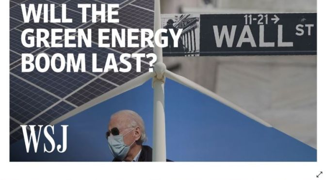 Analysis: 'Will The Green Energy Boom Last?' (Video)