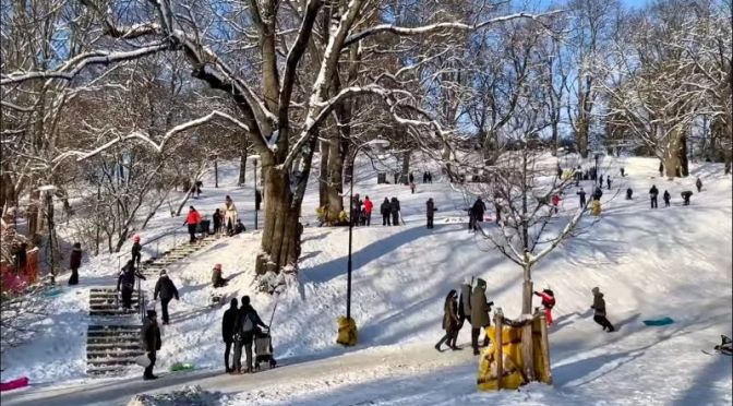 Winter Walk: 'Södermalm Island' – Sweden (Video)