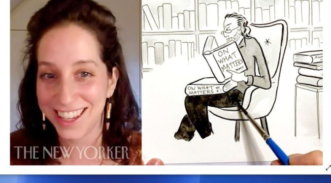 Video Profile: New Yorker Cartoonist Amy Kurzweil – 'How To Draw Cartoons'