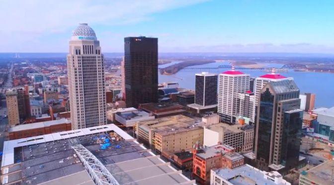 Aerial Views: 'Louisville – Kentucky' (4K Video)