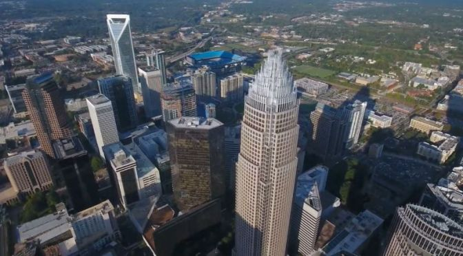 Aerial Views: 'Charlotte – North Carolina' (Video)