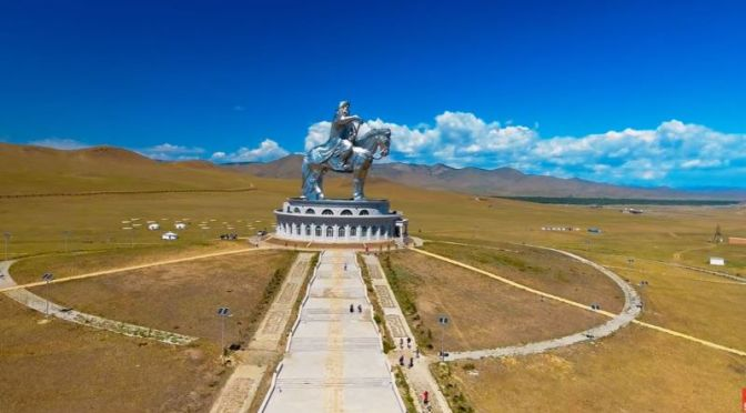 Aerial Views: 'Cities And Landscapes Of Mongolia'