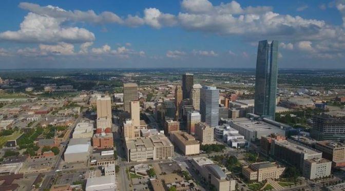 Aerial Views: 'Oklahoma City – Oklahoma' (4k Video)