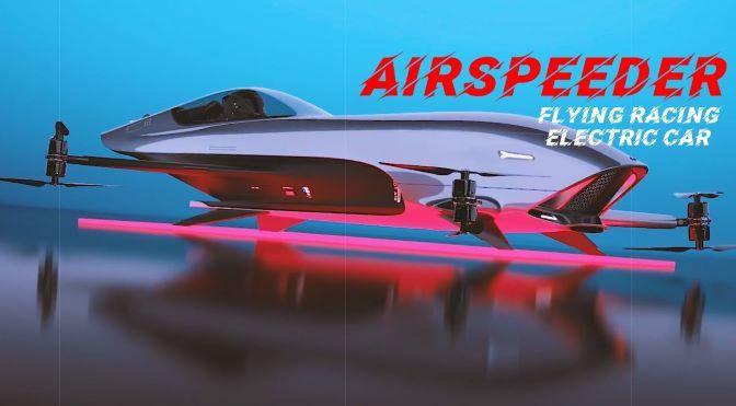 Racing Design: 'Airspeeder' Flying Electric Car (Video)