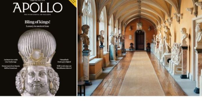 International Art: 'Apollo Magazine' (February 2021)