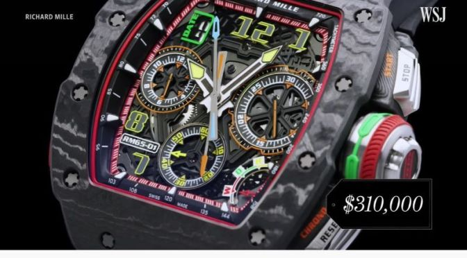 Luxury Brands: 'Why Some Watches Are So Expensive'