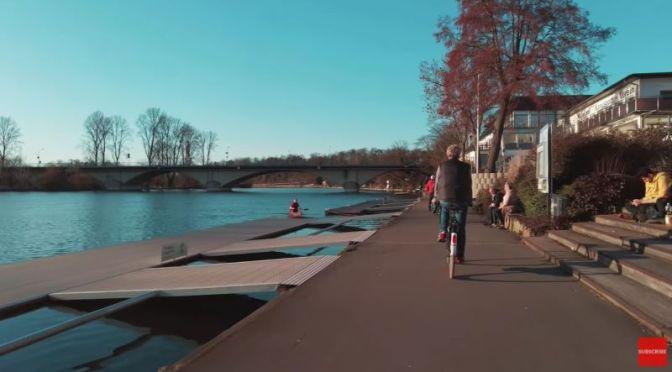 Bike Rides: Ruhr River In Essen Werden, Germany